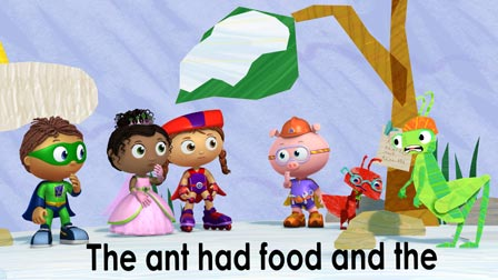 the ant and the grasshopper video