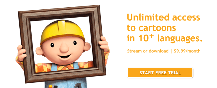 Bob the Builder Subscription Banner
